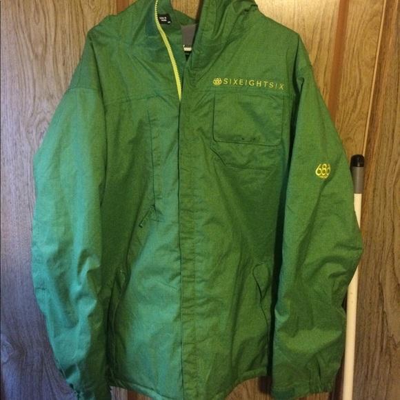 Mens Large 686 Snowboarding Jacket M 5a651eb061ca103374bc13ef